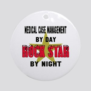 Medical management by Day, Rock St Round Ornament