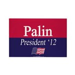 """Palin for Pres."" Rectangle Magnet (100)"