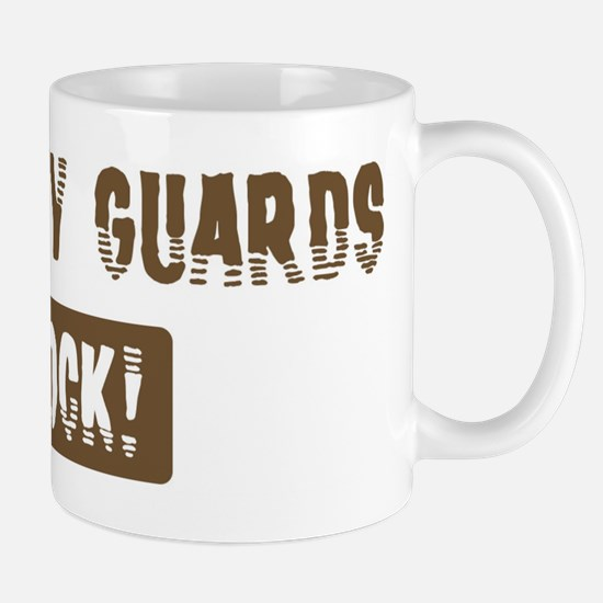 Security Guards Rocks Mug