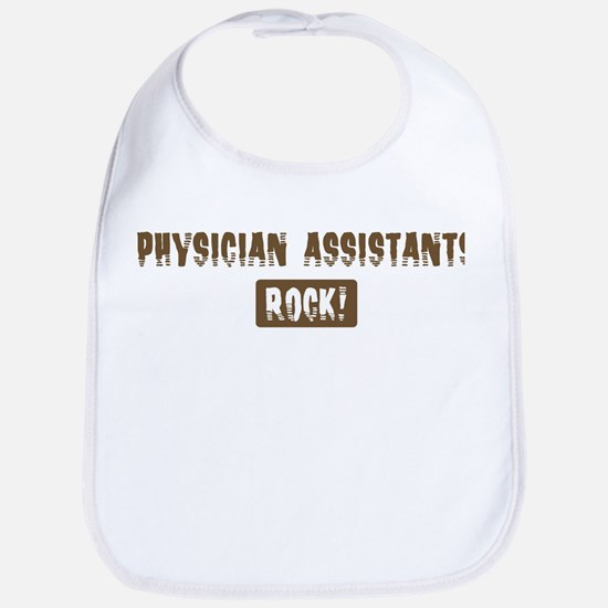 Physician Assistants Rocks Bib