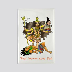 Real Women Love Kali Rectangle Magnet