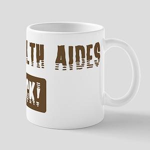 Home Health Aides Rocks Mug