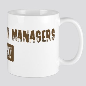 Fish Hatchery Managers Rocks Mug