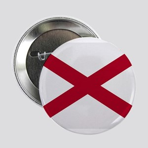 "Alabama Vintage Flag 2.25"" Button"