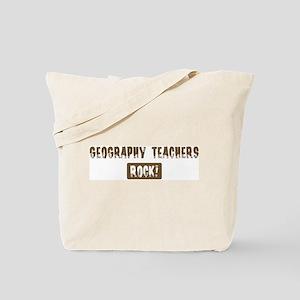 Geography Teachers Rocks Tote Bag