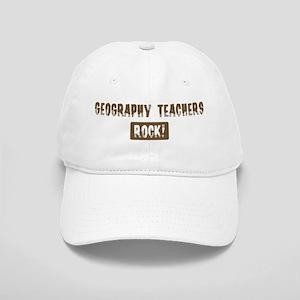 Geography Teachers Rocks Cap