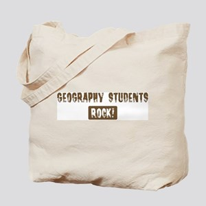 Geography Students Rocks Tote Bag