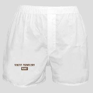 Genetic Counselors Rocks Boxer Shorts