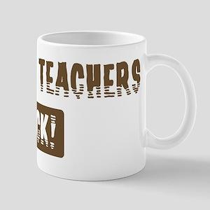 Darwism Teachers Rocks Mug