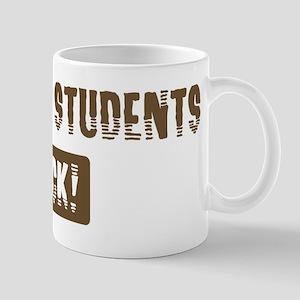Darwism Students Rocks Mug