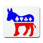 Donkey Poker Mousepad