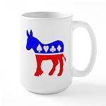 Donkey Poker Large Mug