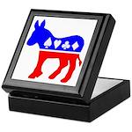 Donkey Poker Keepsake Box