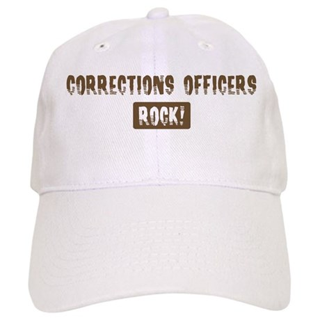 Corrections Officers Rocks Cap