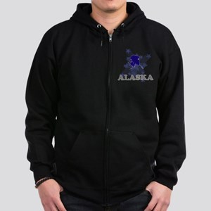 All Star Alaska Zip Hoodie (dark)