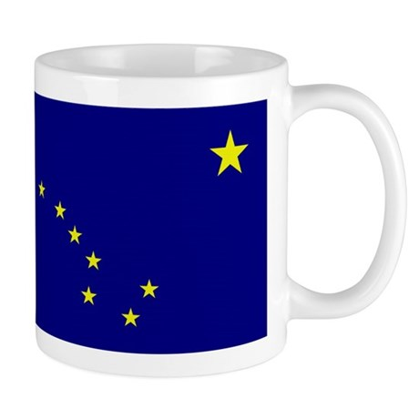 Beloved Alaska Flag Modern St Mug