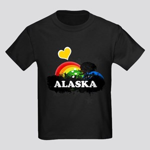 Sweet Fruity Alaska Kids Dark T-Shirt