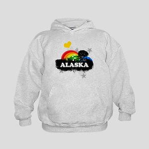 Sweet Fruity Alaska Kids Hoodie
