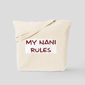 Nani Rules Tote Bag