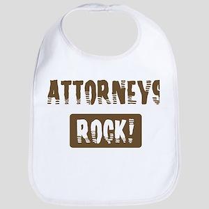 Attorneys Rocks Bib