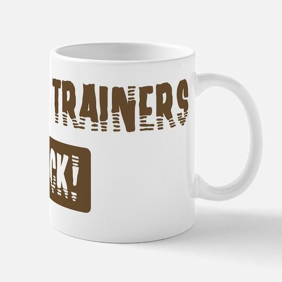 Athletic Trainers Rocks Mug