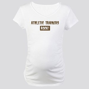 Athletic Trainers Rocks Maternity T-Shirt