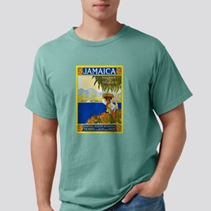 Jamaica Travel Poster 2 T-Shirt