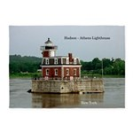 Hudson Athens Lighthouse 5'x7'area Rug