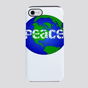 Save the Earth Peace on Eart iPhone 8/7 Tough Case