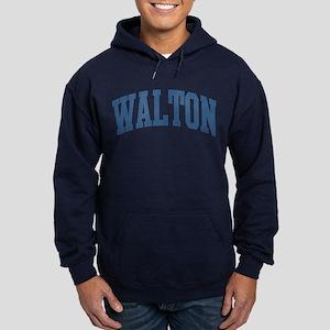 Walton Collegiate Style Name Hoodie (dark)