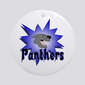 Panthers Ornament (Round)