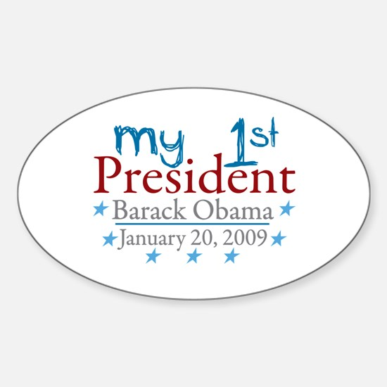 My 1st President (Obama Inauguration) Decal
