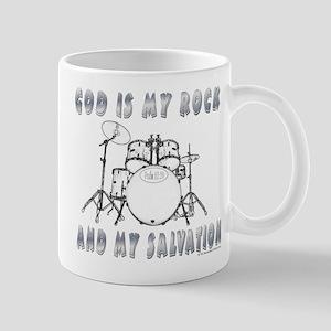 God is My Rock Mug