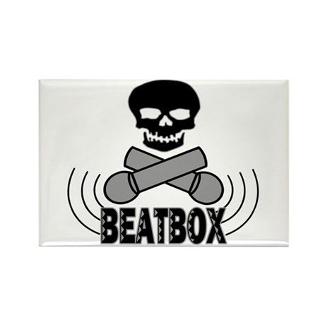 Beatbox Rectangle Magnet (100 pack)