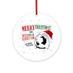JFH Chewie Ornament (Round)