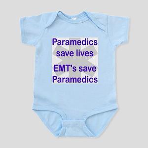 Medics save lives EMT's save  Infant Creeper