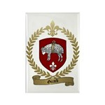 GIRARD Family Crest Rectangle Magnet (100 pack)