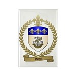 GIROIR Family Crest Rectangle Magnet