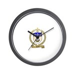 GIROIR Family Crest Wall Clock