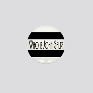 Who is John Galt? Atlas Shrugged Mini Button