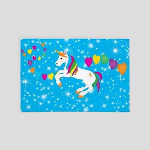 Magical Unicorn 4' x 6' Rug