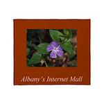 Albany's Internet Mall Christmas Throw Blanket