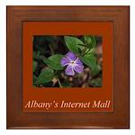 Albany's Internet Mall Christmas Framed Tile
