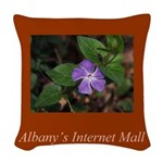 Albany's Internet Mall Woven Throw Pillow