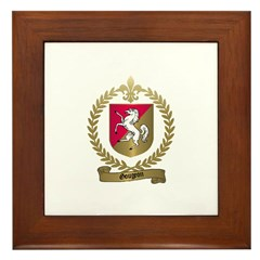 GOUGEON Family Crest Framed Tile