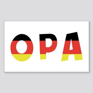 Opa Rectangle Sticker