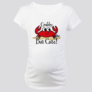 Cute Crabby Maternity T-Shirt