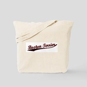 Boston Terrier Varsity Tote Bag