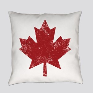 Maple Leaf Everyday Pillow