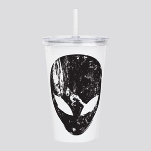 Alien Head (Grunge Tex Acrylic Double-wall Tumbler